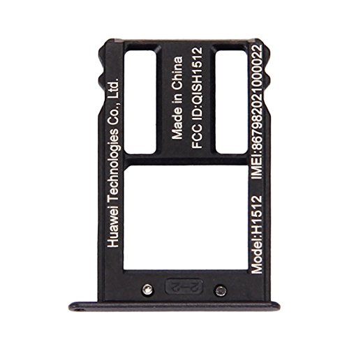 JIN Phone Repair Parts SIM Card Tray for Google Nexus 6P (Black) (Color : Black)