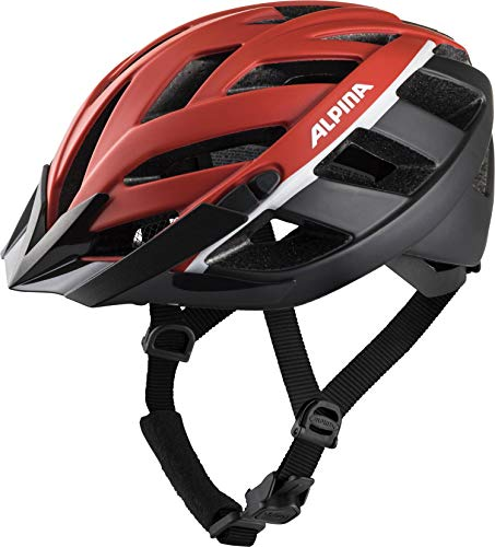 Alpina Unisex– Erwachsene PANOMA 2.0 LE Fahrradhelm, red-Black-White, 52-57 cm
