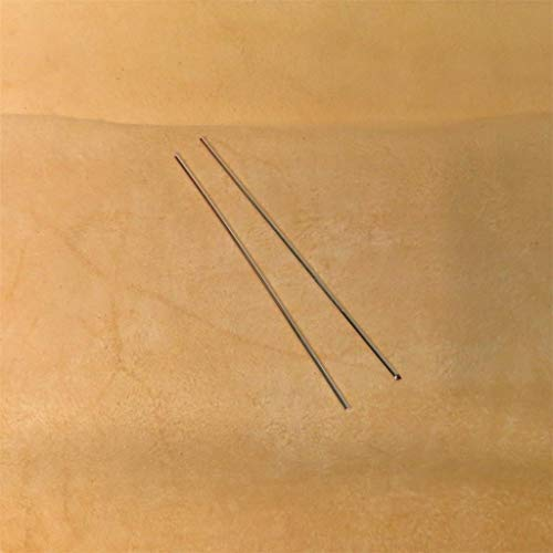 Golden State Silver Colloidal Silver Generator Wire 99.99% Pure Silver 12 Gauge (0.080 in. / 2.03 mm) - Set of (2) 4 inch Rods - Guaranteed 99.99%+