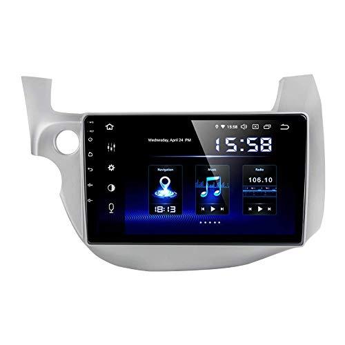 JIBO para Honda Ajuste 2008-2013 Android 10.0 Auto Estéreo GPS Navegación Multimedia Jugador 10,2' Tocar Pantalla Nav Sat Cabeza Unidad Teléfono Control SWC Auto Radio Video Receptor,2008 2013