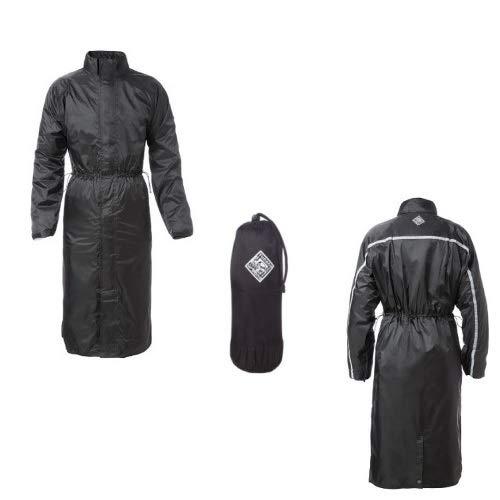 Winterjas voor dames, maat 4XL 516 Tucano Urbano Parabellum, zwarte kUCITURE geborsteld inserti, geribbeld in vita