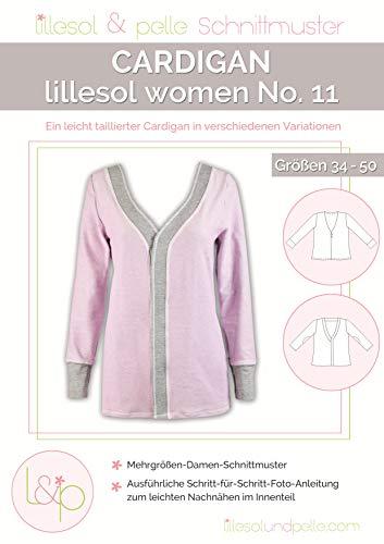 Lillesol & Pelle No11 - Cartamodello cardigan da donna