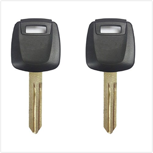 Ignition Transponder Key Blank for Infiniti FX35 FX45 G35 M45 QX56 Q45 w/CHIP#46, 2-pack