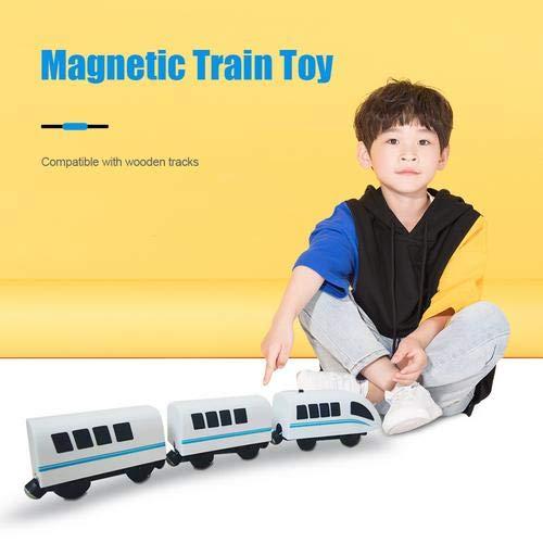 Adminitto88 Trenes De Juguete Electrico Juguetes De Tren De Acción Magnética Bullet...