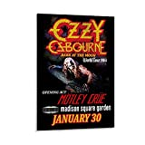 MMJH Ozzy Osbourne Concert Poster (2) Poster dekorative