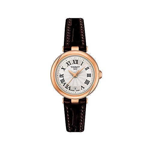 Tissot womens Bellissima 316L stainless steel case with rose...