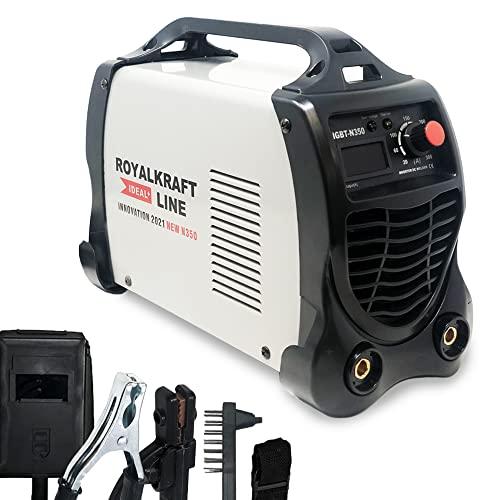 INIT Maquina de Soldar Inverter | Soldador Profesional Electrico | Equipos de Soldadura | 300A 15 KVA de Potencia Tecnologia IGBT Corriente Continua DC MMA |