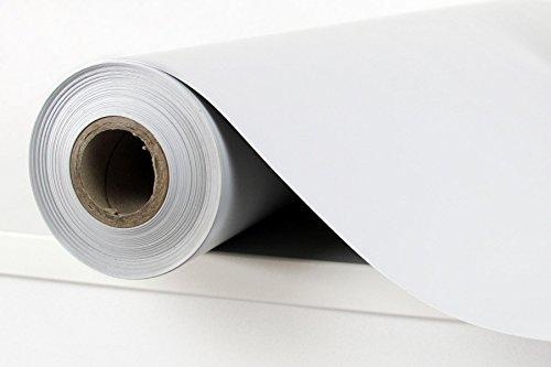 1 Rolle PVC-Folie, in hellgrau / Variantenangebot (12,50qm / 1,0m x 12,5m)