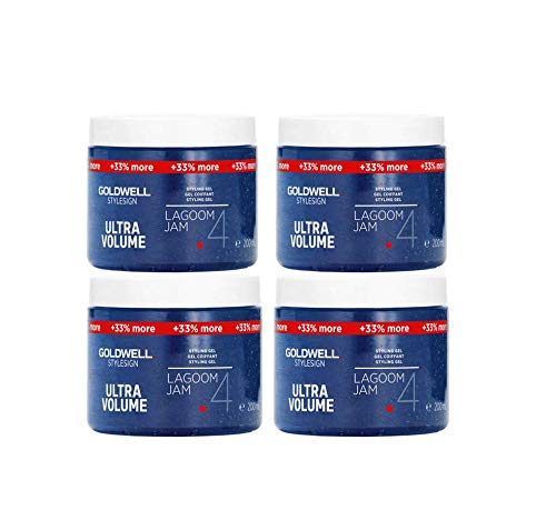 4x 200ml Goldwell Stylesign Ultra Volume Gel Lagoom Jam 4 XXL Kein Import