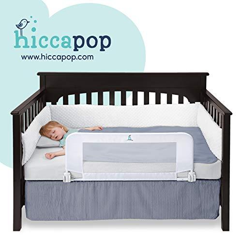 HIccapop Convertible Crib Bed Rail Guard