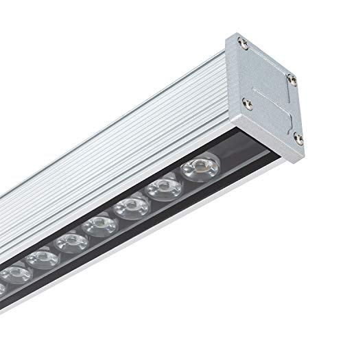LEDKIA LIGHTING LED Lineal Wandfluter 500mm 18W IP65 High Efficiency Neutrales Weiß 3800K - 4200K
