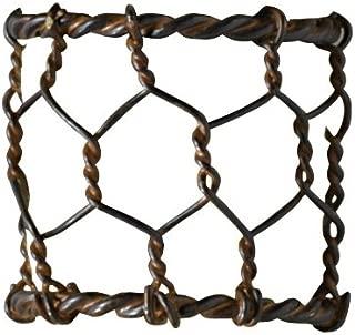 Park Designs Chicken Wire Napkin Ring- Set of 12