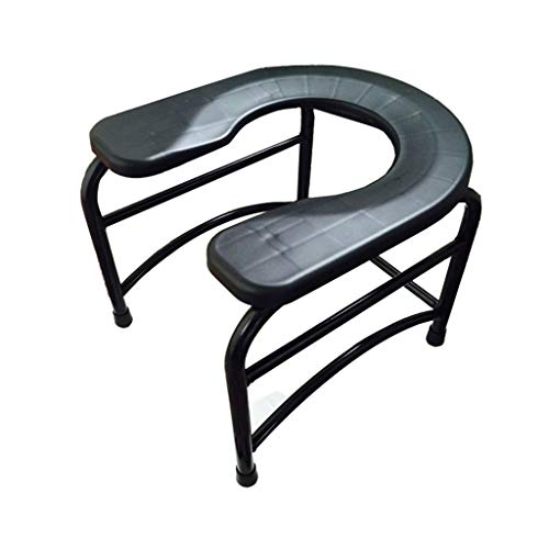JJZXPJ nachtkastje commodes, wc-stoel U type antislip wc-krukje stoel stoel stoel geschikt voor ouderen en zwangere vrouwen