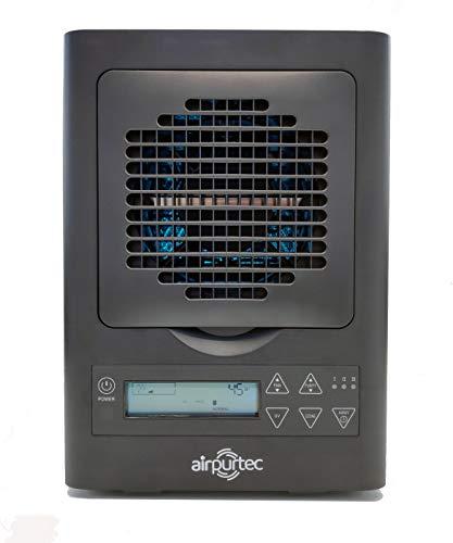 Airpurtec A280 Purificador de Aire y Superficies - 7 tecnologías | HEPA | Cobertura 65/100m² - Eficacia 99,97% | 24h | PCO | Iones | Carbón Activo | para hogar y comercios | Fotocatálisis
