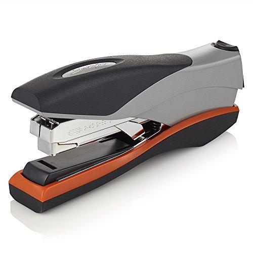 Swingline Stapler, Optima 40, 40 Sheet Capacity, Low Force, Full Strip, Silver/Orange/Black/ (87840)