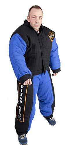 Dingo Gear Hond Training Pak voor IGP Sport Agitation Decoy, VOLLEDIGE BITE, XL, Blauw