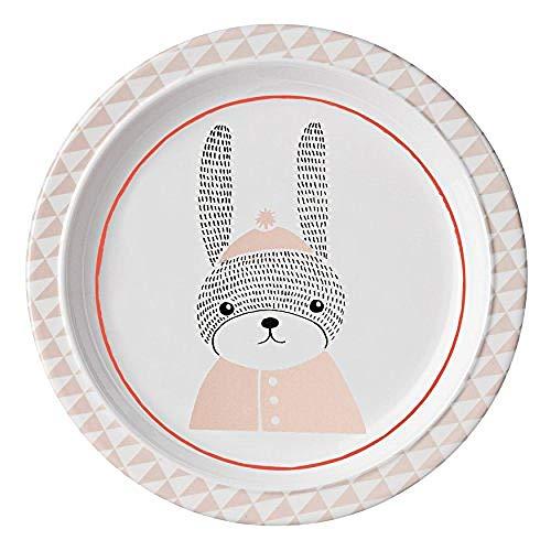 Melaminplatte und Kaninchen Mehrfarben