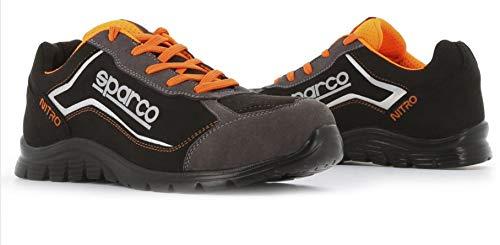 Sparco - Zapatillas Nitro S3 Black/Gris talla 47