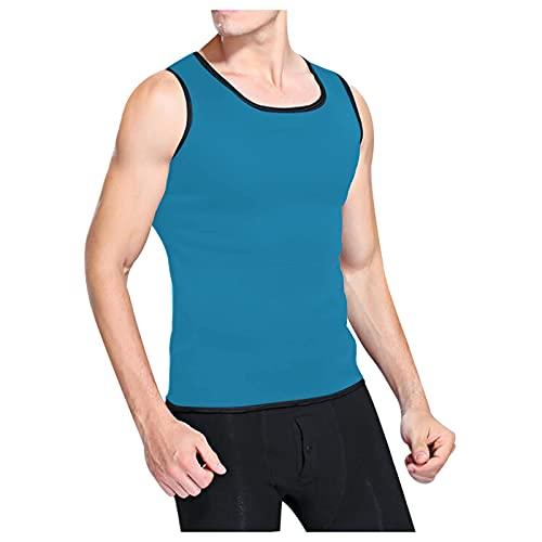 Tank Top Herren Muskelshirts Ärmelloses Schnell trocknendes Bodybuilding Verschwitzt Muskel Shirt Fitness Weste Sportshirt Funktionsshirt Sweatshirt Laufshirt Trainingsweste