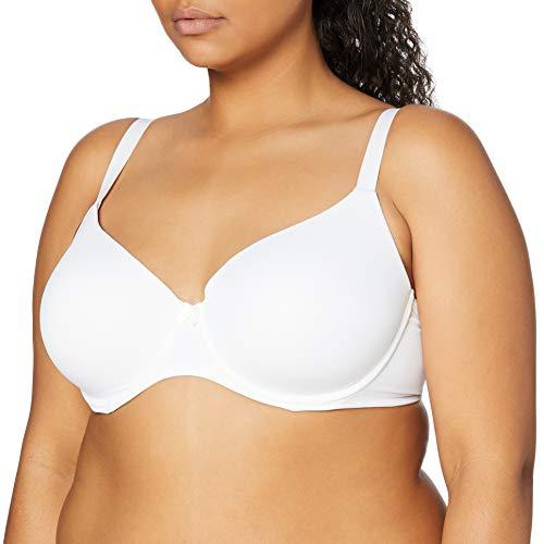 Marca Amazon - IRIS & LILLY BLIC001 sujetadores, Blanco (White), 100D (Talla del fabricante: 38D)