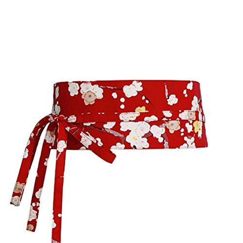 Frauen japanische Yukata Kimono Robe Obi Gürtel Harajuku Bund- # 10