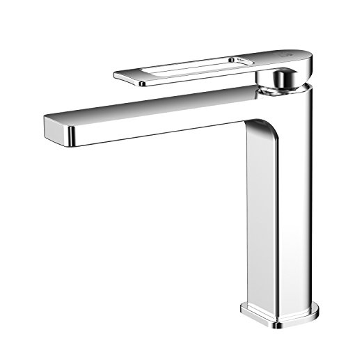 AWA - Hublo - Cromado - Grifo - Mezclador lavabo para baño