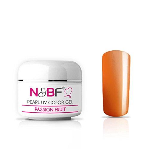 Gel Couleur Pastel Passion Fruit 5 ml-Gel UV Couleur principale
