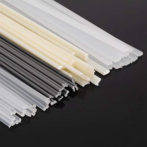 zxxin-Varillas de Soldadura duraderas, Barras de Soldadura de plástico de 50pcs ABS/PP/PVC/PE, para Soldador de plástico, Palos 200x5x2mm con Resistencia a la corrosión