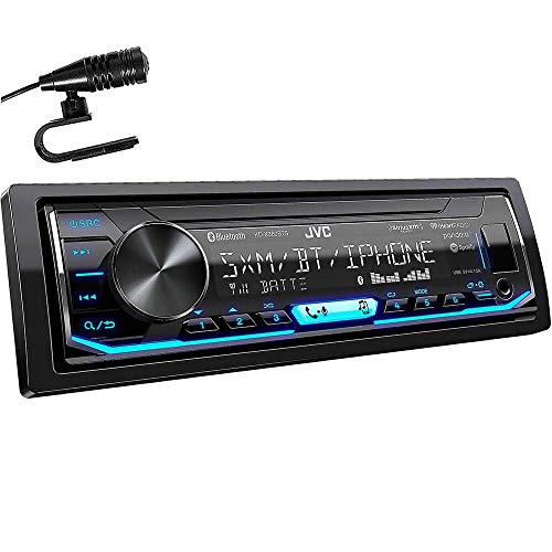 JVC KD-X360BTS 1-DIN Bluetooth In-Dash Mechless AM/FM/Digital Media Car Stereo Receiver with Pandora/iHeartRadio/Spotify Control