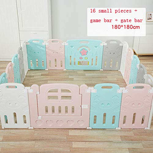 Check Out This Playpens Foldable Baby Baby Toddler Crawling Fence Indoor Home Safety Playground