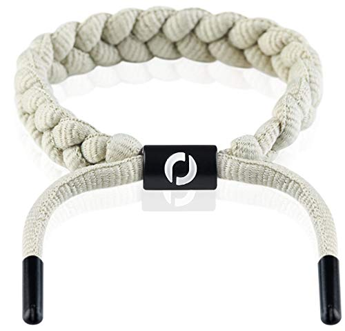 Sport Bracelet Made of Rope | Summer Style | Black Clasp Grey Color 5