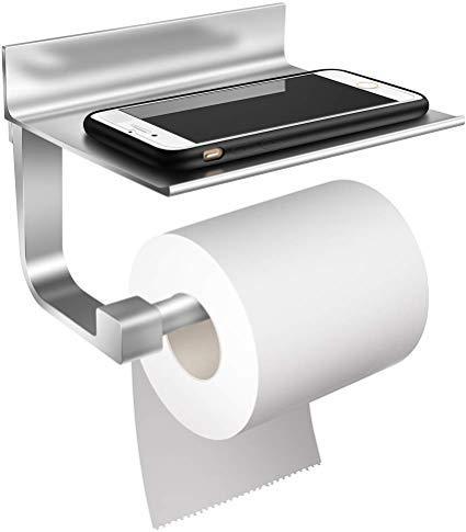 StillCool Portarrollo para Papel Higiénico de Aluminio rollo de papel