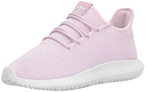adidas Originals Girls' Tubular Shadow J, Aero Pink/White/White, 4 M US Big Kid