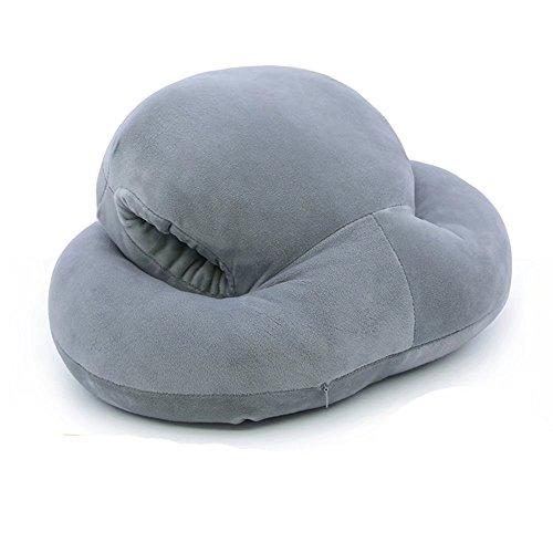 Pillow-MAIKA HOME Oreiller de ménage/Coussin/Coussin de Bureau (Couleur: Gris)