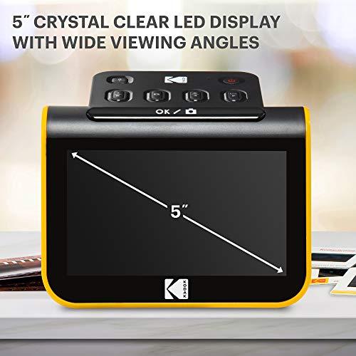 "KODAK Slide N SCAN Film and Slide Scanner with Large 5"" LCD Screen, Convert Color &..."