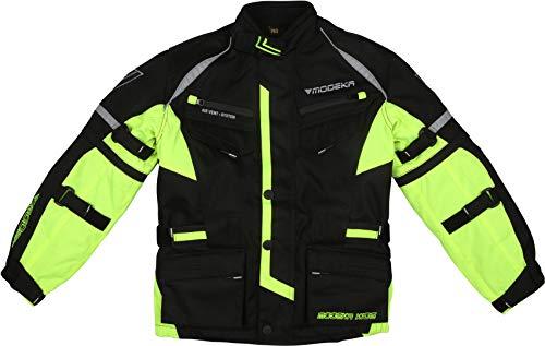Modeka Tourex II Giacca tessile per moto ciclismo per bambini 128