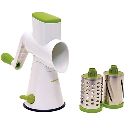 Starfrit 094237-001-0000 Drum Grater, Green/White