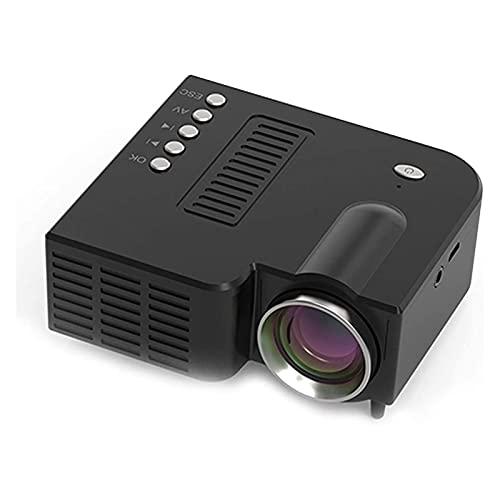 HKJZ SFLRW Mini proyector, proyector de películas portátiles de 1080p con 20,000 hrs LED Lámpara Vida, USB Compatible