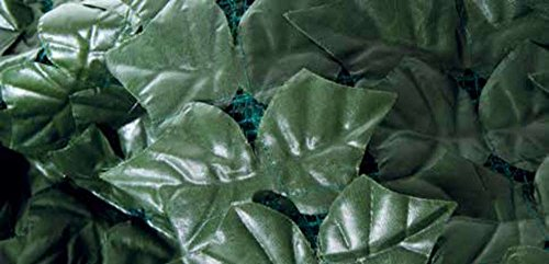 VERDELOOK Sempreverde® Point, Siepe Artificiale 1,5x3 m, Foglia Lauro, per Decorazioni Giardino