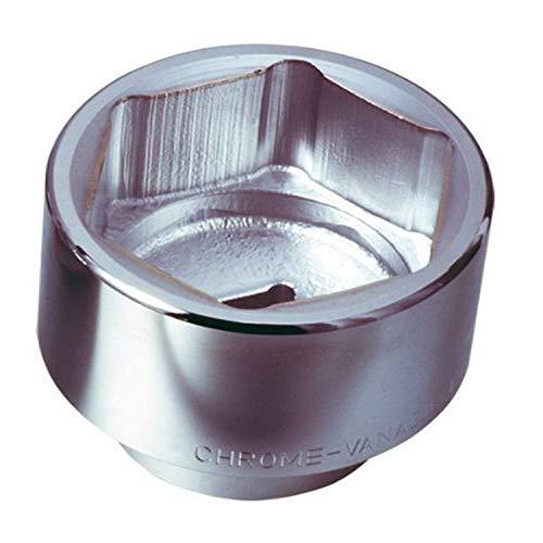 KS Tools 911.1071 - Douille 6 pans - 1'' - 71 mm - Version courte - En Chrome Vanadium - Finition satinée