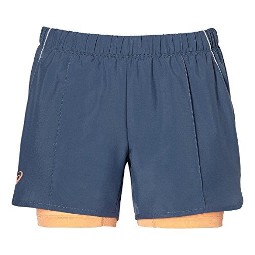 ASICS - Tennis-Shorts für Damen in Schwarz