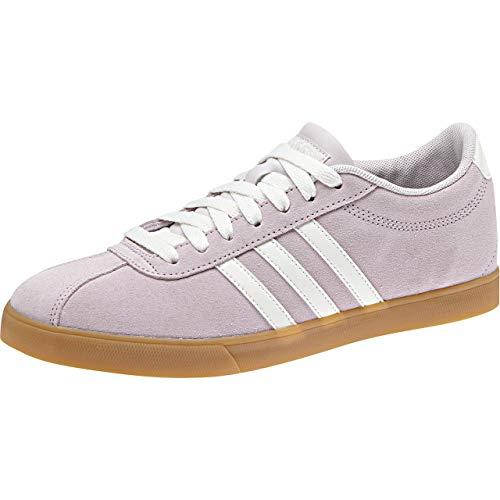 adidas Courtset, Zapatillas de Tenis para Mujer, Morado (Ice Pur/Clowhi/Ice Pur Ice Pur/Clowhi/Ice Pur), 40 2/3 EU