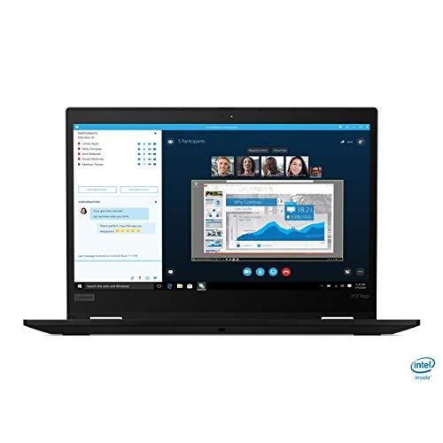 Lenovo X13 Yoga Gen 1 - Ordenador portátil Convertible y táctil de 14 Pulgadas FHD (Intel Core i5-10210U, 8 GB RAM, 256 GB SSD, Windows 10 Pro, Negro)