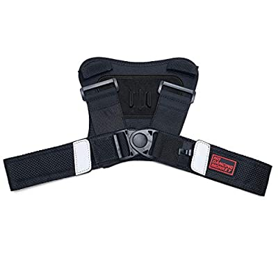 USWE Action Camera Harness - Front Mount on USWE Bounce Free Backpacks. Size M-XL. Fits GoPro Cameras. Keeps your Action Cam Steady doing Action Sports, Mounted on the Adjustable 4-point Race Harness. from USWE