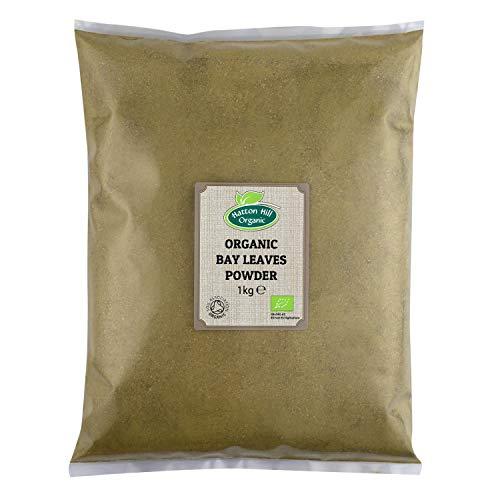 Bio Lorbeerblatt gemahlen 1kg von Hatton Hill Organic – BIO zertifiziert