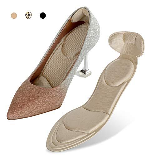 Heel Cushion Inserts - Heel Grips & Shoe Pads for Women-Heel Pads Non-Slip Sponge Insole 2 in 1