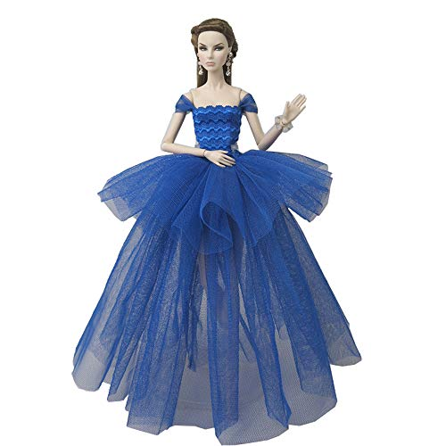 barbie sposa Mobby Splendido Abito da Sposa Fatto a Mano Moda Abito da Sposa Set per Bambole Barbie