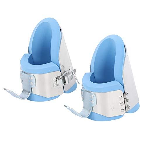 DAUERHAFT Cómodo Entrenamiento antigravedad Parada de Manos Zapatos al revés Lados Acolchados Salud Crecimiento óseo Circulación sanguínea Reducir la tensión Muscular