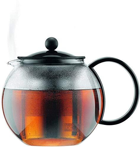 Bouilloire induction Théière à la maison Théière à domicile Théon Résistant à la chaleur épaissie Thé de thé Tea Noir Théière à la maison pour la maison Office Outdoor WHLONG (Size : 1000ml)