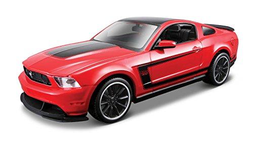 Maisto- Kit de Montaje del Modelo Ford Mustang Boss 302,